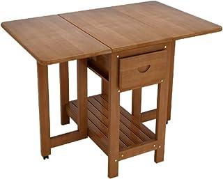Ryyland-Home Table de Cuisine Pliante Table à Manger avec chaises abattants Multifonction Table Extensible Table Extensibl...