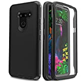 AMENQ Case for LG G8 Thinq, LG G8 Case Three Pieces Heavy