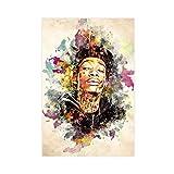 Leinwand-Poster Rapper Wiz Khalifa 13, Schlafzimmer,