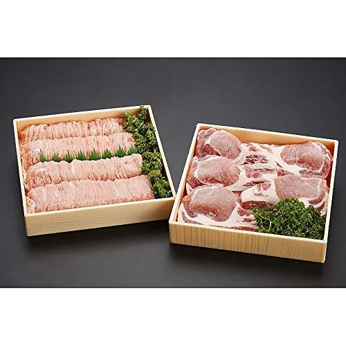 ( 産地直送 お取り寄せグルメ ) 北海道上富良野 地養豚 ロースしゃぶしゃぶ 600g&ロースステーキ 150g×5枚セット