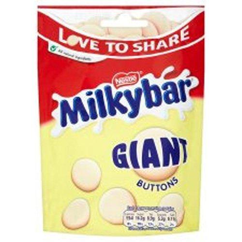 Nestle Milkybar Giant Buttons 126G