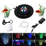Acquario Fish Tank LED Illuminazione, Illuminazione Subacquea dell'acquario del LED con Po...