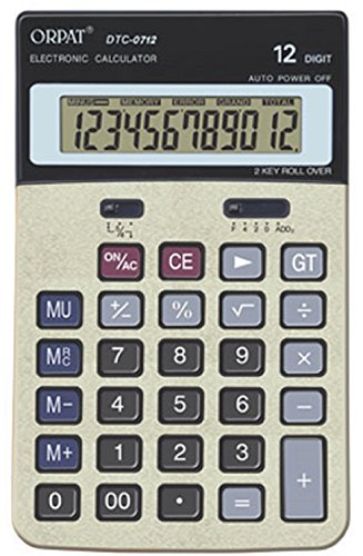 Orpat DTC-0712 Basic Calculator