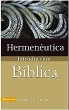 libros de hermeneutica biblica