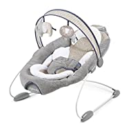 Dream comfort fabrics promotes airflow giving baby a cooler and cosier place to rest Bounce timer provides 30 minutes of continuous bouncing motion! 2 speeds of bounce that mimic mom's natural motion Hybrid rive technology makes batteries last longer...