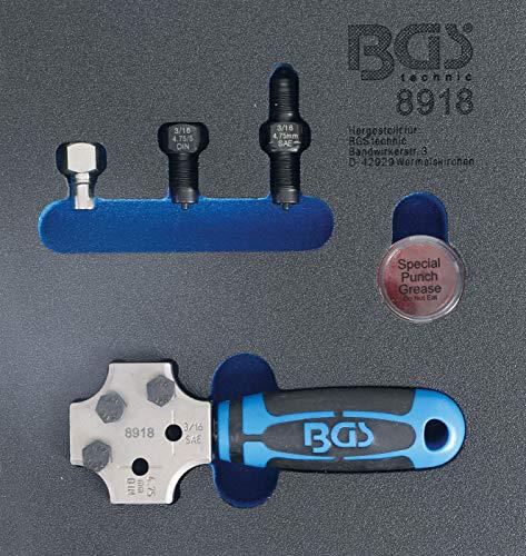 BGS 8918 | Abocardador | SEA y DIN 4,75 mm (3/16