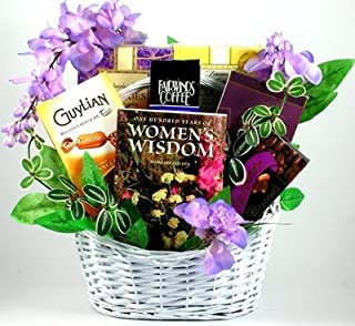 Wonderful Woman's Wisdom Gourmet Gift Basket for Her