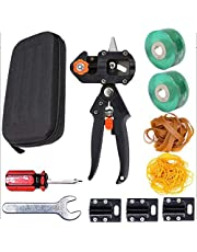 Dasorende Garden Grafting Tool Pruning Shears for Plant Branch Twig Tree Grafting Cutting Scissors Shear with 3 Replaceable Blades