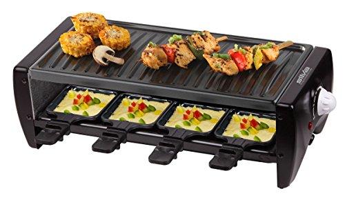 Silva-Homeline RG 80 8 er Raclette Grill mit Temperaturregelung
