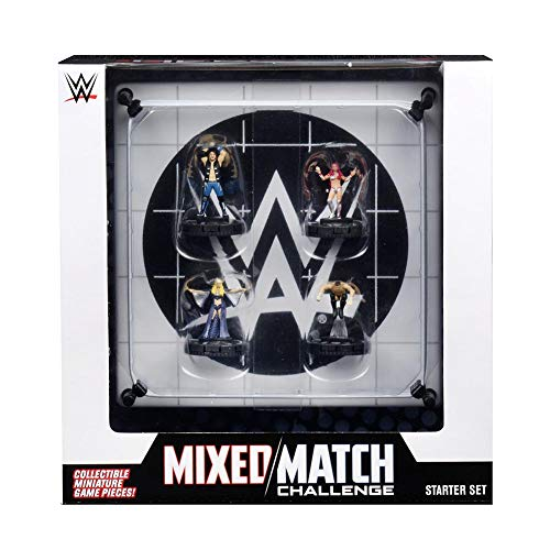 WWE WZK73773 - HeroClix - Mixed Match Challenge Ring 2-Player Starter Set