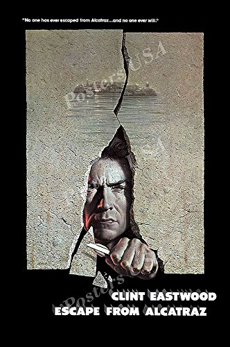 Posters USA - Clint Eastwood Escape From Alcatraz Poster GLOSSY FINISH - FIL070 (24