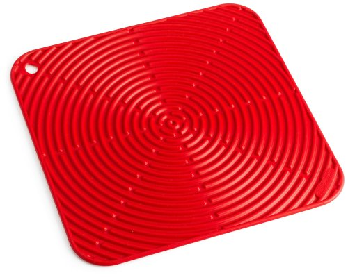 Le Creuset Cool Tool Counter Protector, Silicone, Heat-resistant, Ø 29 cm, Cerise