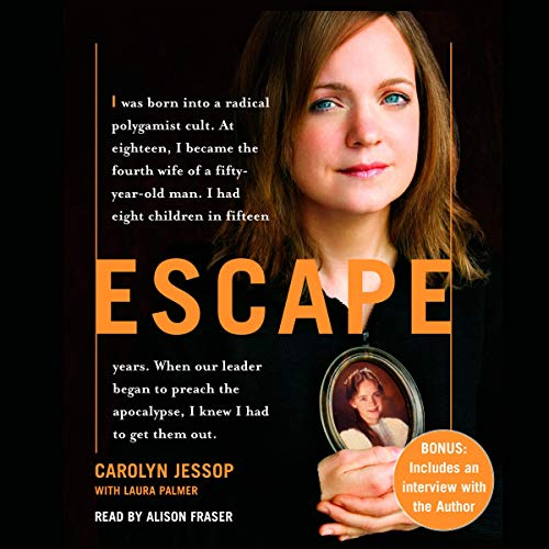 Escape audiobook cover art