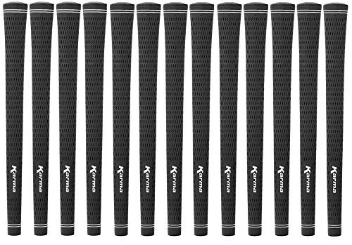 Set of 13 Karma Velvet Tour Pro Golf Grips - UNDERSIZE