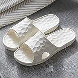 FBRR Cubo de Agua EVA Sandalias y Zapatillas de Suela Blanda Gruesa Zapatillas de baño baño de su casa par de Temporadas del hogar Antibacteriano (Color : Nude, Size : 9/9.5 UK)