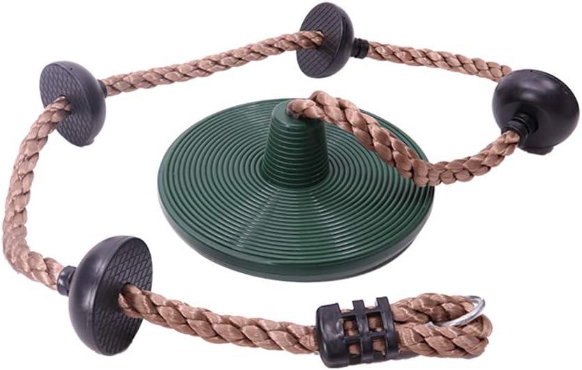 Wankd - Cuerda de escalada para niños, cuerda de escalada con nudos, para niños, con base de seguridad