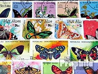 Francobolli per i Collezionisti Prophila Collection Maldive 100 Diversi Francobolli Speciali