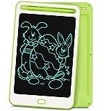 Richgv 8.5 Pulgadas Tableta Gráfica, Tablets de Escritura LCD a Color, Portátil Tableta de Dibujo Adecuada para el Hogar, Escuela, Oficina (8.5 Pulgadas, Verde-A)