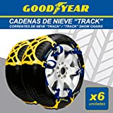GOOD YEAR GOD8025 Cadenas DE Nieve, Set de 6
