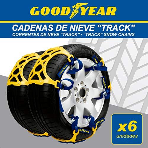 GOOD YEAR GOD8025 Cadenas DE Nieve, Set de 6
