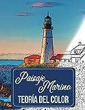 paisaje marino teoría del color: bocetos para colorear acuarela pintura acrílico