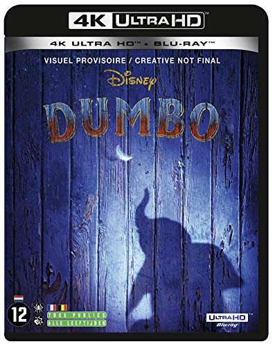 Dumbo 4k ultra hd [Blu-ray] [FR Import]