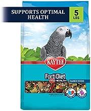 Kaytee Forti Diet Pro Health Bird Food For Parrots, 5-Pound