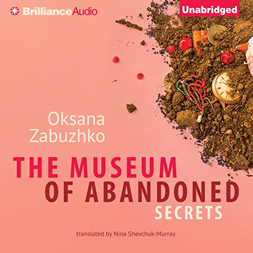 The Museum of Abandoned Secrets audiobook cover art