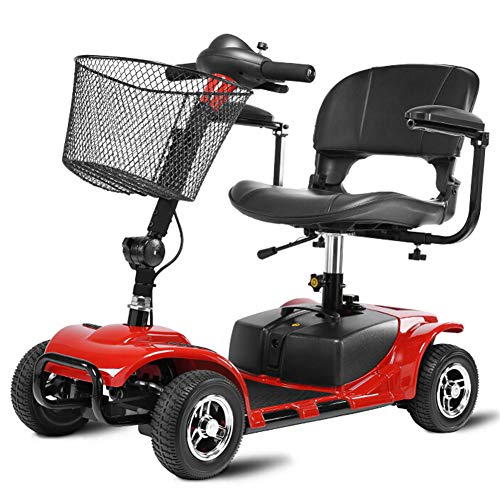 EMOGA Light and Compact, Foldable,4 Wheel Power Electric Travel and...