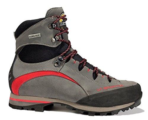 LA SPORTIVA 564ar, Stivali da Escursionismo Alti Unisex-Bambini, Multicolore (Anthracite/Red 000), 36 EU