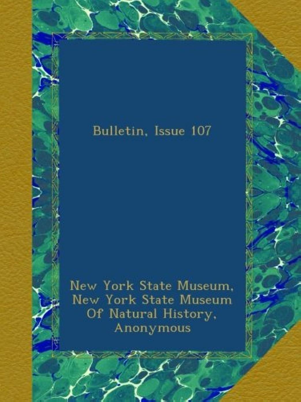 農業一人で霧深いBulletin, Issue 107