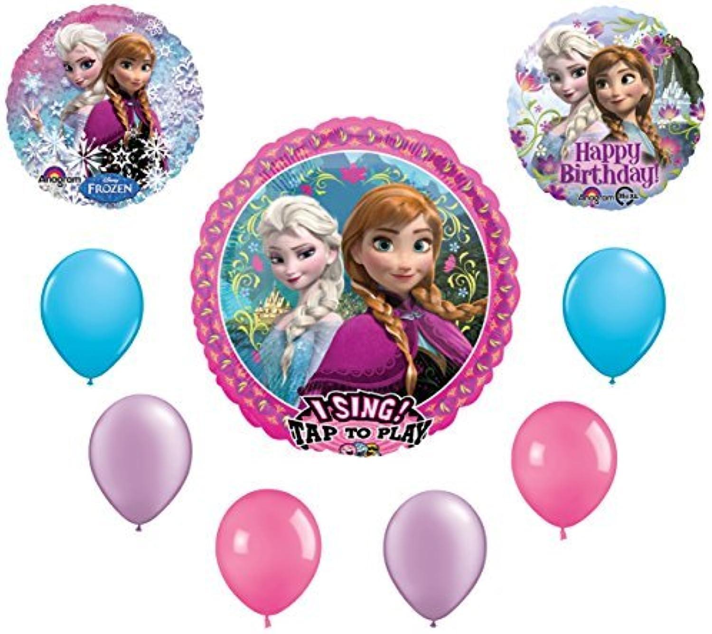 Frozen Anna & Elsa Birthday Balloon Bouquet by Qualatex