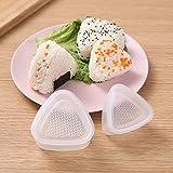 3 Unids/set Sushi Molde Onigiri Maker Bola de arroz Molde de prensas Bento Herramienta de bricolaje Herramientas prácticas de cocina-Molde de sushi de masa de arroz Máquina de bolas de arroz Herrami