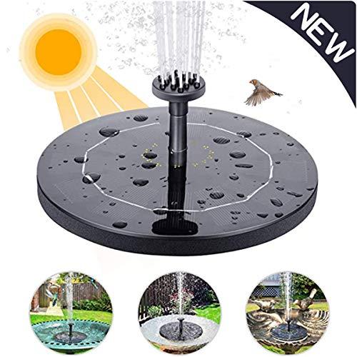 ALTINOVO Solar Springbrunnen, 1.4W Solar Wasserpumpe Maximum 50cm Höhe Solar Schwimmender Fontäne Pumpe, Für Garten, Vogel-Bad,Teich, Fisch-Behälter