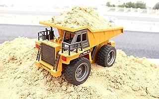 HuiNa Toys1540 Six Channel 1/12RC Metal Dump Truck Charging RC Car