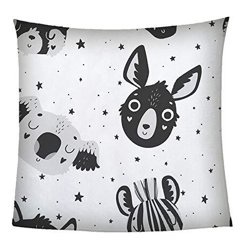 LIGAHUI Manta Polar con Flecos de Pompones Conejo Blanco Plaid Manta de Franela para el sofá Cama Apta para Todas Las Estaciones 180x200 cm