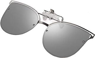 6f5123b2e13 Clip-on Sunglasses with Polarized Mirrored Lens – Anti-glare UV 400  Sunglasses Clip