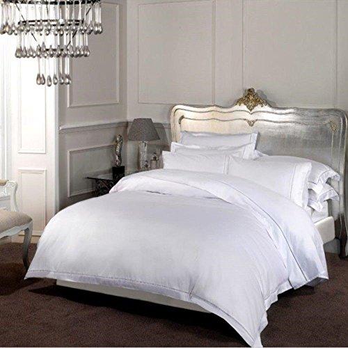 Dorchester Nórdico 1000 Hilos Calidad Hotel Algodón Egipcio, Blanco, Tamaño: Super King 260 x 220cm