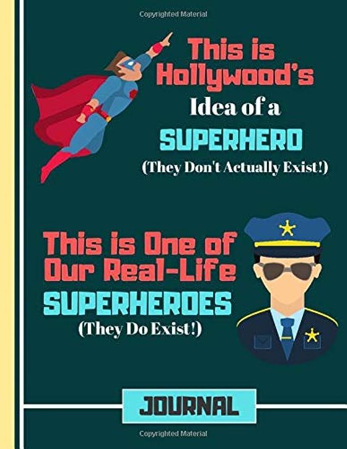 ちょうつがい脊椎おめでとう(JOURNAL): Police Officer Hero Quote Cookery Gift: Police Recipe Book for Boys, Kids, Teens, Men