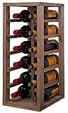 Expovinalia Botellero Pino 12 Botellas, Roble Claro, 58x24x32 cm