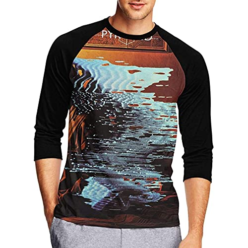 Man Humor Alan Parsons Project 3/4 Sleeve T-Shirts Baseball tee Athletic Round Neck Tops Jersey T Shirts