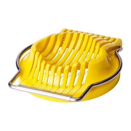 IKEA SLÄT Eierschneider in gelb
