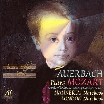 Auerbach Plays Mozart