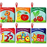 Cloth Books for Babies (Set of 6) - Premium Quality Soft Books for...