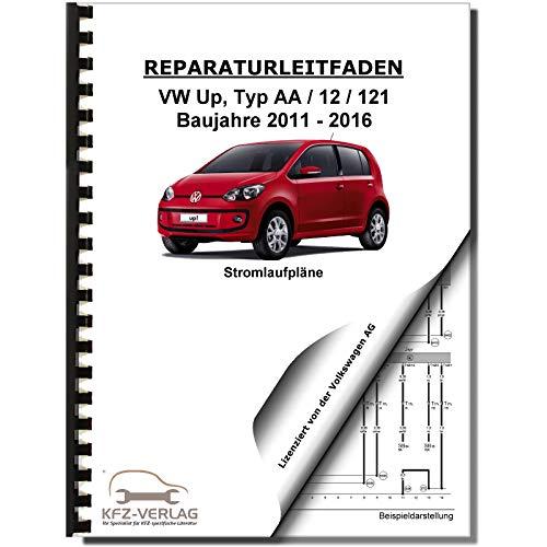 VW Up! Typ 121 2011-2016 Schaltplan Stromlaufplan Verkabelung Elektrik Pläne