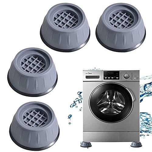 4 Pcs Pies para lavadora,Almohadillas Antivibración,Almohadillas pies lavadora,Almohadillas Goma Antivibración,Amortiguador Vibraciones,Antivibracion Patas Lavadora,para Lavadora y Secadora (style2)