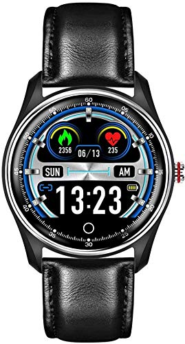 Pulsera de reloj inteligente para hombre, monitor de ejercicio, monitoreo del sueño, podómetro de calorías, multifunción