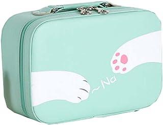 Lovely Organizer Bathroom Storage Cosmetic Bag Carry Case Female,Green