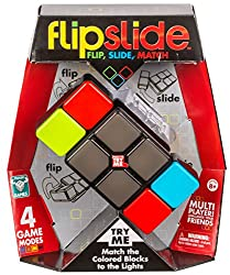 Can you master the moves to beat the blocks? Flip to find the colour and slide to match the lights. Flip Slide is the take anywhere light up fidget action cube game you can't put down! A game for fast minds and slick moves. You'll be hooked from your...