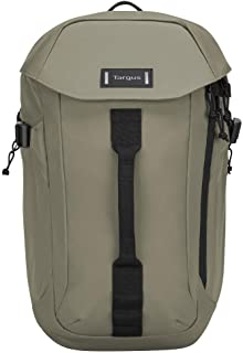 Targus Sol-Lite Max Backpack Designed for Durable, Strong Protective Water-Resistant, and Comfortable for Traveling and Commuter fit up to 15.6-Inch Laptop, Olive Green (TSB97102GL)